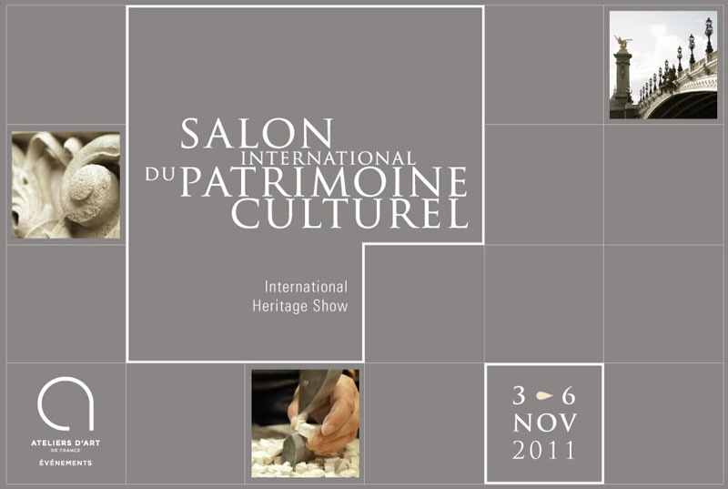 Salon international du patrimoine culturel coordination for Salon du patrimoine