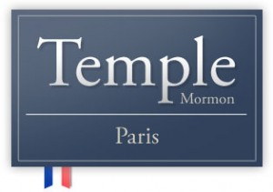 Logo Temple Mormon Paris